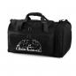 Preview: Sports-/Travelbag with Akita Club Logo (Black)